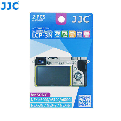 AU7.99 • Buy JJC 2PCS LCD Screen Protector Film For Sony A6500 A6400 A6300 A6000 A5100 A5000