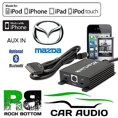 Mazda 5 Car Stereo Radio AUX IN IPod IPhone Bluetooth Interface Connection Cable • 79.99£