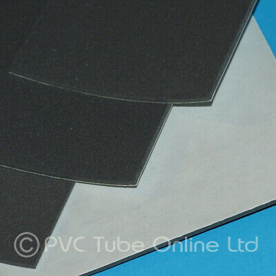 £2.65 • Buy 2mm Foam Sheet Sponge Rubber - Adhesive Backed Closed Cell - Charcoal Grey