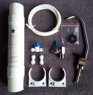 £14.79 • Buy Cwp Undersink Drinking Water Tap Filter Kit Sytsem Including Faucet &accessories