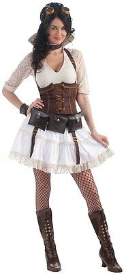 $49.99 • Buy Steampunk Sally Victorian Girl Fancy Dress Up Halloween Sexy Adult Costume