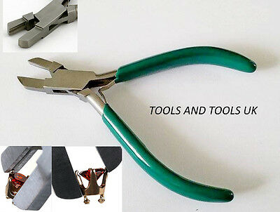 Quality Stone Gem Setting Pliers Jewelry Making Beads Craft Bending Tightening • 8.92£