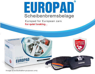 AU59.40 • Buy For Suzuki Vitara 1.6 Soft Top [SE416] 1992-1995 Europad Front Disc Brake Pads