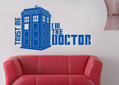 £12.88 • Buy DR. WHO TARDIS Decal WALL STICKER Home Decor Art ALL SIZES & COLORS ST81