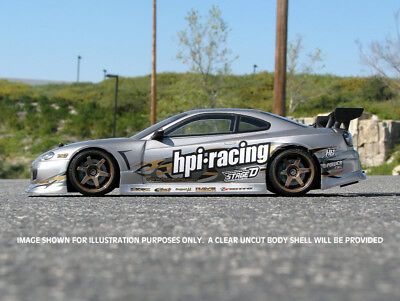 HPI Nissan Silvia S15 Clear Body Shell 200mm 1/10 Touring RS4 17530 • 32.99£