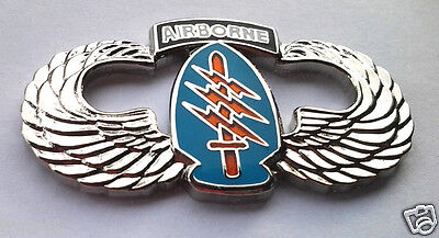 $7.12 • Buy AIRBORNE SPECIAL FORCES WINGS  (LARGE 1-1/2 ) US ARMY Military Hat Pin 16038 HO