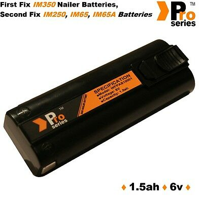 1 X Replacement Battery 1.5ah (pro-series) For Paslode Im350/350+/65/65A/250 • 19.79£