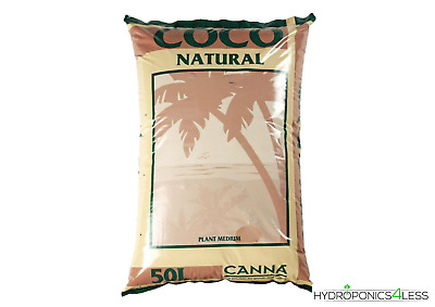 £16.99 • Buy Canna Coco Natural Coir Hydroponic Growing Potting Garden Media 10L 25L 50L