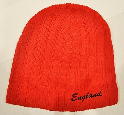 £11.99 • Buy Beanie Hat Red England BH3231