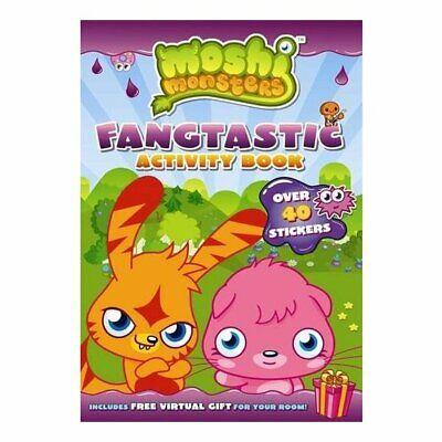 Moshi Monsters Fangtastic Activity Book With Stickers • 3.97£