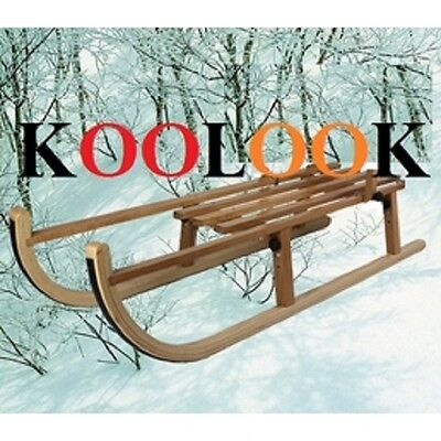£229.90 • Buy Folding Wooden Toboggan Foldable Sledge KOOLOOK THE BEST PRICE - FAST SHIPPING !