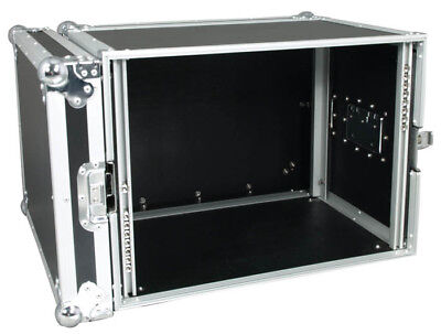 Rack Flight Case 19 Inch 8U - 2 YEAR Guarantee • 92£