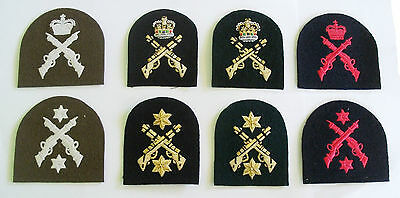 Royal Marines Dl/pw Battledress, Blues, Lovats And No 3 Tombstone Badges • 9.95£