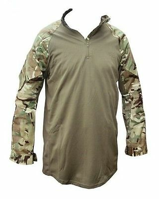 British Army Mtp Under Body Armour Combat Shirt- Ubacs - Used - Various Sizes • 17.99£