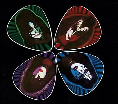$ CDN17.22 • Buy Kiss 1978 Solo Albums Guitar Picks - Set Of Four