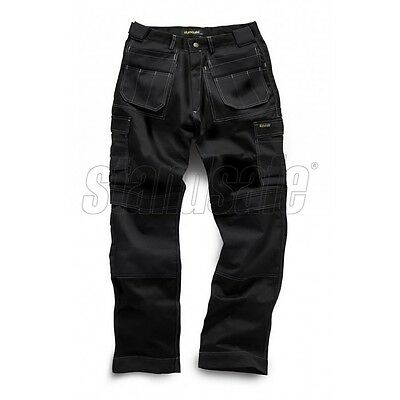 £18.99 • Buy Mens Heavy Duty Combat Cargo Work Wear Trouser With Knee Pockets Triple Stitched