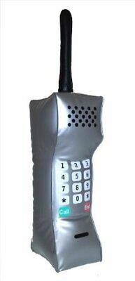 AU19.29 • Buy Inflatable 12' 80's 90's Teenage Business Mobile Telephone Costume Cell Phone