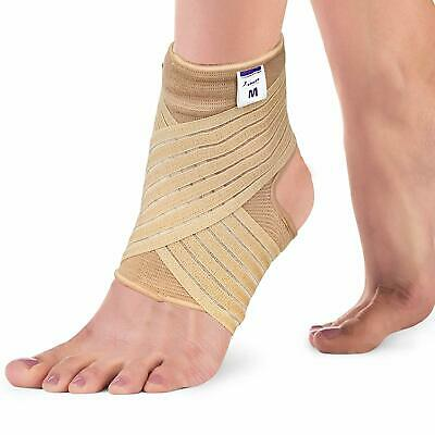 £7.85 • Buy Ankle Support Strap For Weak Ankles - Sports Injury Pain Sprains - Beige Black