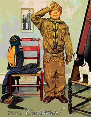$ CDN5741.55 • Buy Norman Rockwell        Can't Wait       MAKE  OFFER       DDS