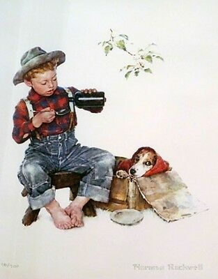$ CDN5195.43 • Buy Norman Rockwell        Mysterious Malady        MAKE  OFFER       DDS