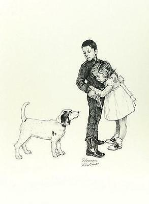 $ CDN4603.55 • Buy Norman Rockwell        Save Me  (Protecting Sister)        MAKE  OFFER       DDS