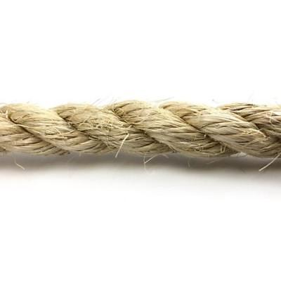 Natural Sisal Rope- Cat Scratching And Pet Friendly -   6,8,10,12 & 14mm • 5.95£