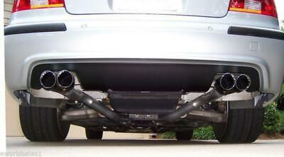 $ CDN157.07 • Buy BMW Dual Stainless Steel Exhaust Tips 3 5-series 2.5  3.5  Quad Outlets E39 M5