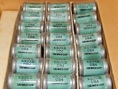 $9.90 • Buy 0.1uF  10% 200V OKBG-I KBG-I  PIO Capacitors   NOS In BOX   Lot Of 10