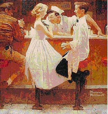 $ CDN7885.48 • Buy Norman Rockwell        After The Prom       MAKE  OFFER       DDS