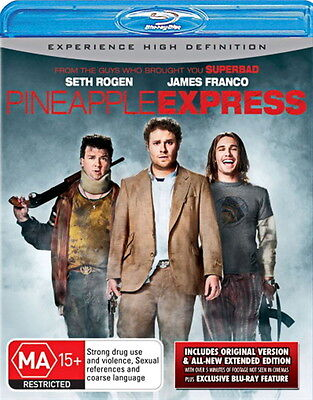 AU17.95 • Buy Pineapple Express - Action / Comedy - Seth Rogen, James Franco - NEW Blu-Ray