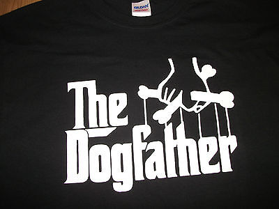 THE DOGFATHER DOG LOVERS T-SHIRT All Sizes Available Godfather Parody • 8.99£
