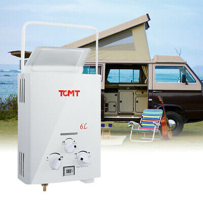 £51 • Buy Portable LPG Propane Gas 6L Hot Water Heater Tankless Instant Boiler Outdoor RV