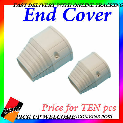 AU39 • Buy Air Conditioner End Cover Sturdy Anti-Corrosion Ducting  AirCon Connector QE-7