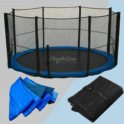 £49.99 • Buy Trampoline Replacement Rain Cover, Spring Cover, Jump Mat Safety Net All Sizes