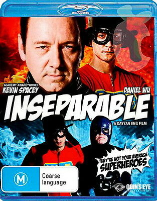 AU16.10 • Buy Inseparable - Action / Comedy / Coarse Language - Kevin Spacey - New Blu Ray