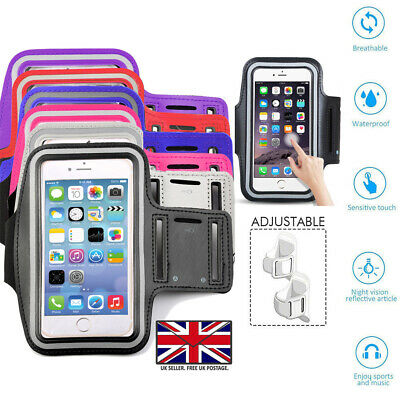 Gym Running Jogging Sports Armband Holder For Various IPhone Mobile Phones • 3.99£