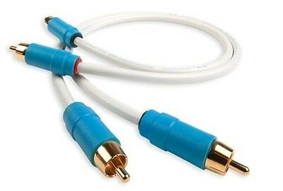 Chord C-line Stereo 2 RCA - 2 RCA Analogue Audio Interconnect 0.5m • 40£