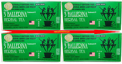 AU33.81 • Buy Diet Herbal Tea Extra Strength Weight Loss Constipation 4 Box 72 Bag 3 Ballerina