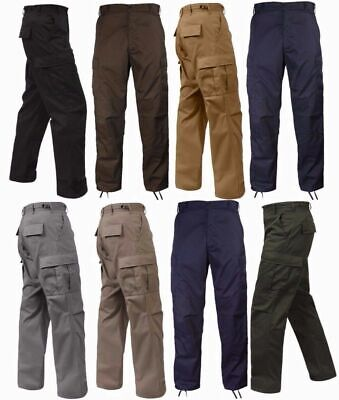 $49.99 • Buy BDU Pants Solid Colors 6 Pocket Military Cargo Army Fatigue Polycot Twill ROTHCO