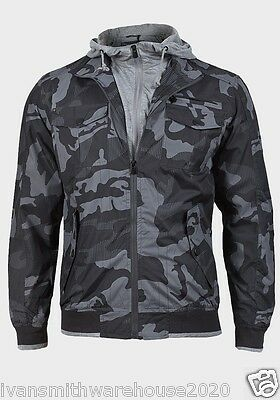 Mens Camouflage Jacket By Brave Soul 55g Soul Ripstop Camo / Military / Sports   • 24.99£