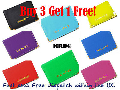 £2.15 • Buy Travel Oyster Rail Card Bus Pass Holder Bank Card Cover Wallet Buy 3 Get 1 Free