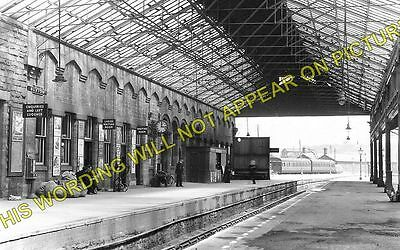 Buxton Railway Station Photo. Millers Dale And Peak Forest Lines. Midland Ry (1) • 3.50£