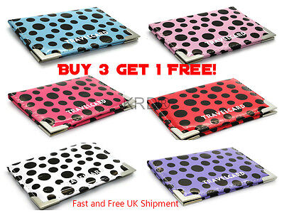 £2.15 • Buy POLKA DOT TRAVEL CARD HOLDER Oyster Rail Bus Pass Cover Wallet Buy 3Get1 Free UK