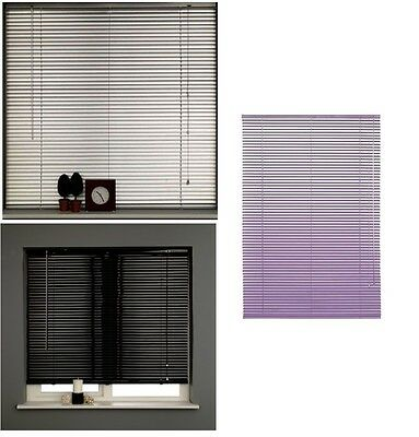 Silver Aluminium Venetian Blinds Window Easy Fit Home Office Blind All Sizes New • 31.99£