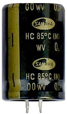 £4.20 • Buy Large Electrolytic Can Capacitors - Snap In Samwha High Quality 100uf - 22,000uf