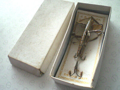$55.60 • Buy A Scarce Vintage Carded And Boxed J E Miller Of Leeds Slotted Devon Lure