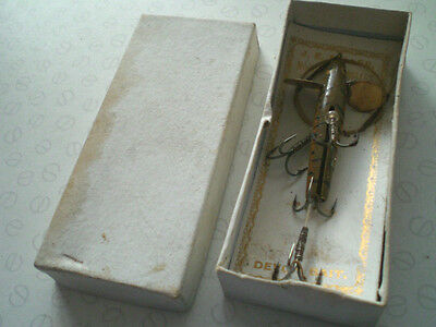 $62.55 • Buy A Scarce Vintage Carded And Boxed J E Miller Of Leeds Slotted Devon Lure