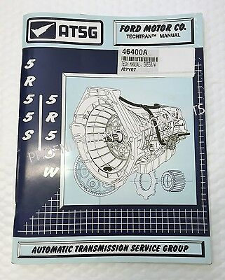 $ CDN61.08 • Buy 5R55W 5R55S Transmission ATSG Technical Manual 1999 And Up For Ford