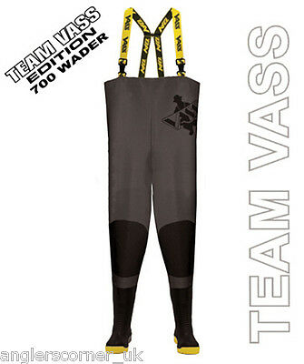 Team Vass Waders - Vass-Tex 700E Heavy Duty Chest Waders • 95.95£
