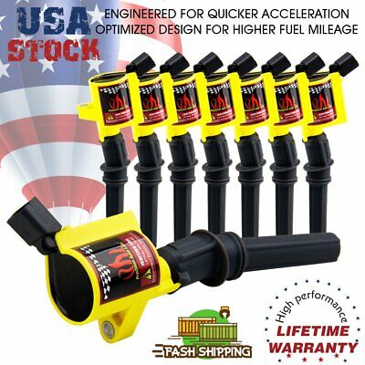 $35.99 • Buy Super Ignition Coil Pack 8 For Ford F150 F250 F550 4.6/5.4L DG508 V8 V10 Lincoln